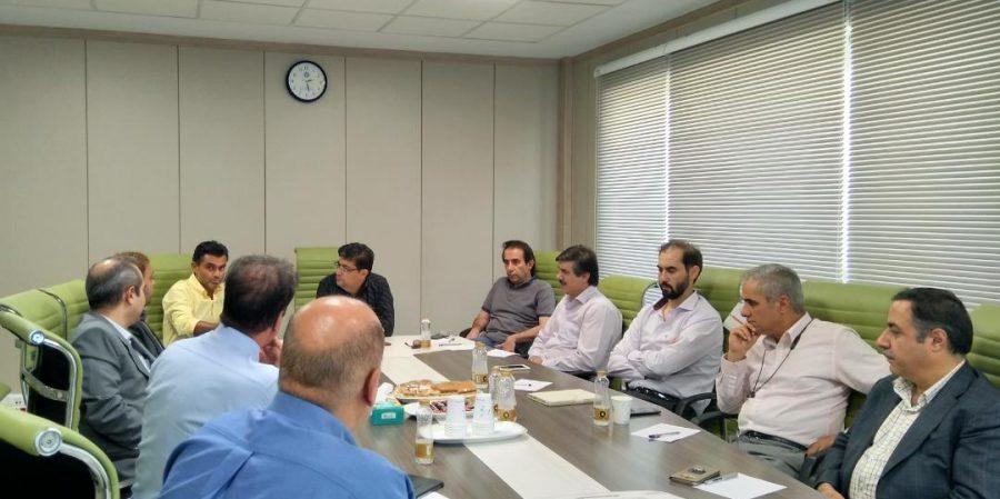 جلسه مشترک هیئت مدیره با کارگروه های علمی و روابط عمومی