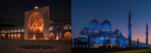نورپردازی مساجد