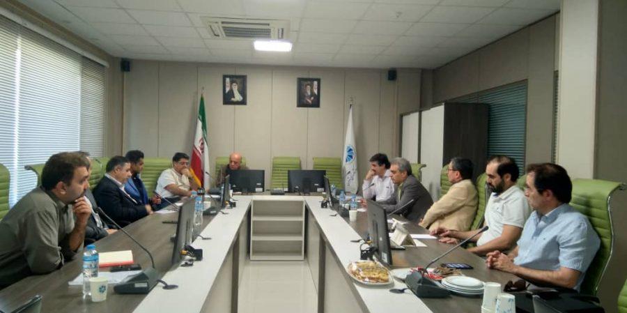 جلسه هیئت مدیره با دبیران کارگروه ها