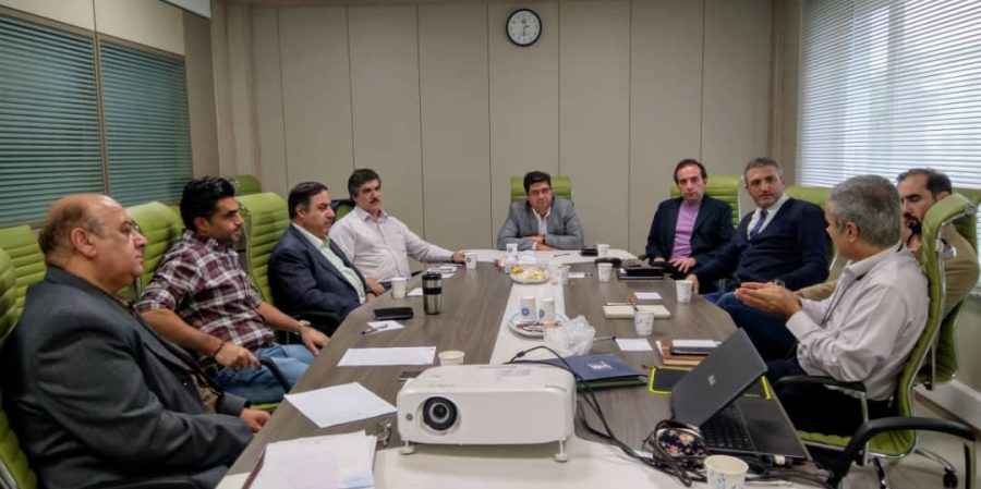 جلسه هیئت مدیره و دبیران کارگروه ها در تاریخ 29 مهر 1398
